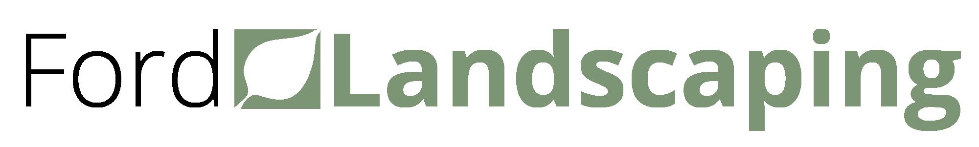Ford Landscaping Logo