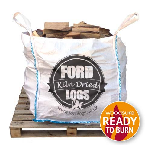bulk bag of kiln dried logs