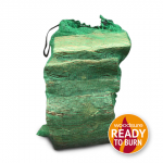 Kiln dried logs in a 10kg netted bag