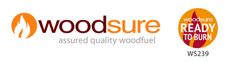 Woodsure ready to burn logos