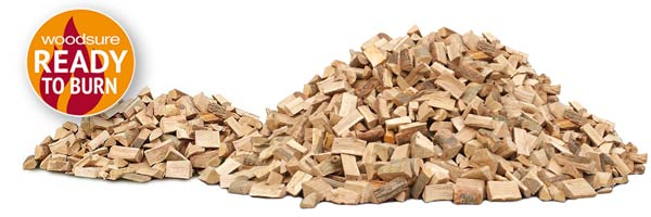 1 to 5 cubic metres of Kiln Dried logs